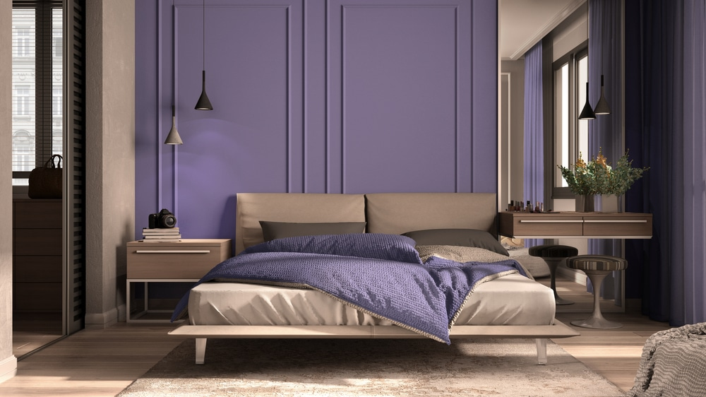 Lavender in the bedroom is good for sleep